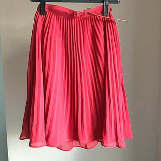 プロポーションボディドレッシング(PROPORTION BODY DRESSING)の新品 タグ付 プロポーションボディドレッシング プリーツスカート(ひざ丈スカート)