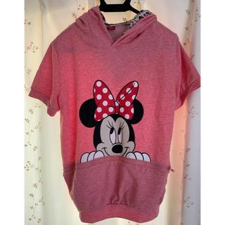 ディズニー(Disney)のディズニー トップス パーカー 半袖パーカー(カットソー(半袖/袖なし))