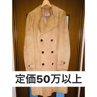 マルタンマルジェラ(Maison Martin Margiela)のMaison Margiela leather coat(レザージャケット)