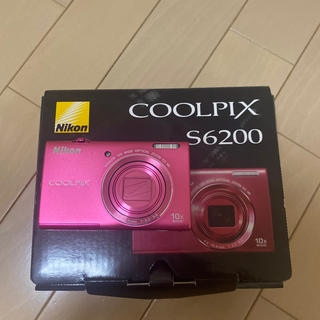 ニコン(Nikon)の美品☆Nikon COOLPIX S6200 チェリーピンク☆(コンパクトデジタルカメラ)