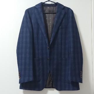 オリヒカ(ORIHICA)のORIHICA メンズジャケット ネイビーチェック柄(テーラードジャケット)