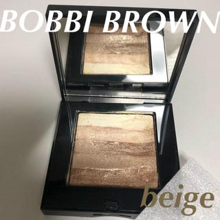 ボビイブラウン(BOBBI BROWN)のBOBBI BROWN ボビイブラウン シマーブリック   beige(フェイスカラー)