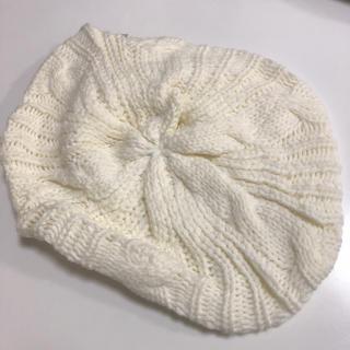 ジーユー(GU)のGU  ジーユー ニット帽子 帽子(ニット帽/ビーニー)