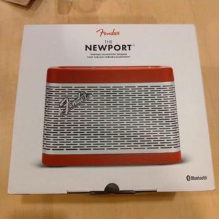 フェンダー(Fender)の【新品】Fender Music NEWPORT BT Speaker Red(スピーカー)