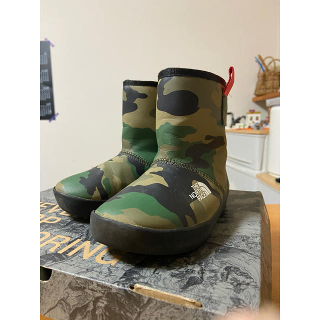 THE NORTH FACE(ザノースフェイス)のノースフェイス レインブーツ17センチ キッズ/ベビー/マタニティのキッズ靴/シューズ(15cm~)(ブーツ)の商品写真