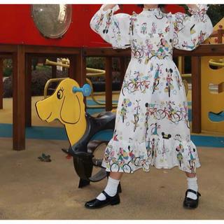 ディズニー(Disney)のミッキー ワンピース 最終値下げ(ロングワンピース/マキシワンピース)