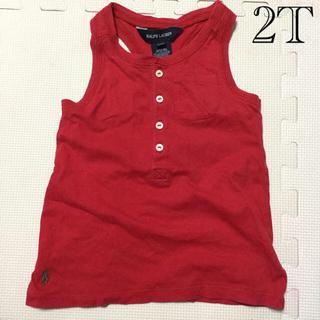 ラルフローレン(Ralph Lauren)のラルフローレン タンクトップ 2T  90cm位(Tシャツ/カットソー)