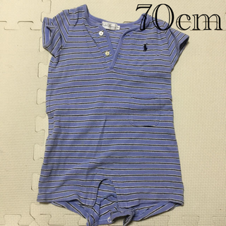 ラルフローレン(Ralph Lauren)のラルフローレン BABY 半袖 70cm(ロンパース)
