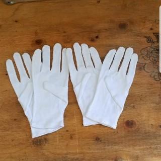 綿、手袋Mサイズ 2双(手袋)