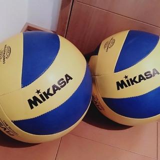 ミカサ(MIKASA)のMIKASA・練習球〖2球〗(バレーボール)