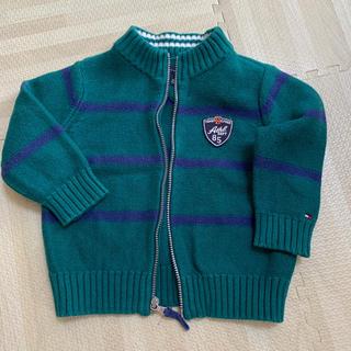 トミーヒルフィガー(TOMMY HILFIGER)のトミーヒルフィガー カーディガン ブルゾン 18M ベビー服(カーディガン)