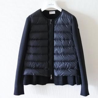 MONCLER - モンクレール ダウン カーディガン 黒 正規品 19-20秋冬モデル