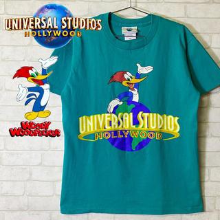ユニバーサルエンターテインメント(UNIVERSAL ENTERTAINMENT)の【UNIVERSAL STUDIOS】ウッドペッカー メキシコ製 Tシャツ/S(Tシャツ/カットソー(半袖/袖なし))