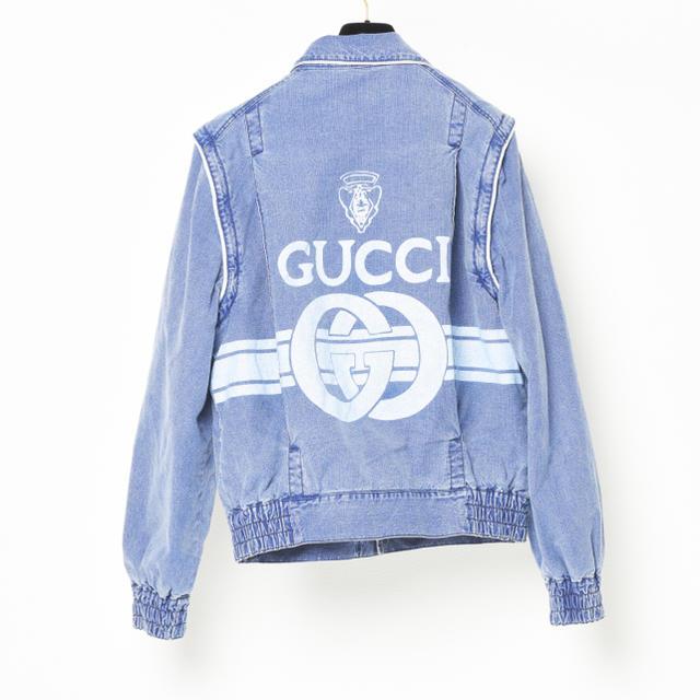 Gucci(グッチ)のGUCCI デニムジャケット 50 メンズのジャケット/アウター(Gジャン/デニムジャケット)の商品写真