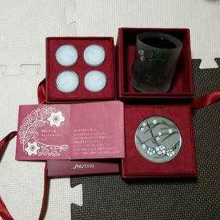 シセイドウ(SHISEIDO (資生堂))の資生堂 ミラー&キャンドルホルダーセット(キャンドル)