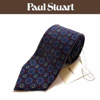 ポールスチュアート(Paul Stuart)の【新品】Paul Stuart ネクタイ 日本製 ウール混 花柄(ネクタイ)