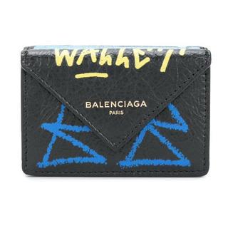 バレンシアガ(Balenciaga)のBALENCIAGA ペーパーミニウォレット GRAFFITI(折り財布)