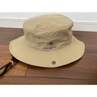 モンベル(mont bell)のモンベル ハット 帽子 ベージュ シンプル(ハット)