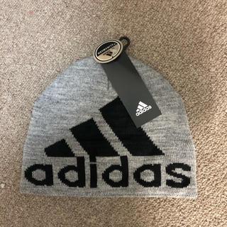 アディダス(adidas)のアディダスオリジナルス ビッグロゴ クライマウォーム ビーニー(ニット帽/ビーニー)