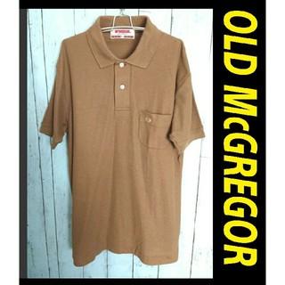 マックレガー(McGREGOR)のOLD McGREGOR オールド マックレガー 半袖  ポロシャツ 薄茶色(ポロシャツ)