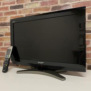 アクオス(AQUOS)のシャープ 26V型 液晶 テレビ AQUOS LC-26E7 ハイビジョン(テレビ)