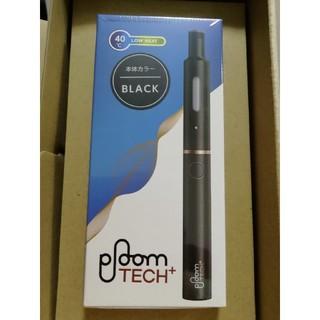 プルームテック(PloomTECH)のploom tech+ プルームテックプラス スターターキット ブラック(タバコグッズ)