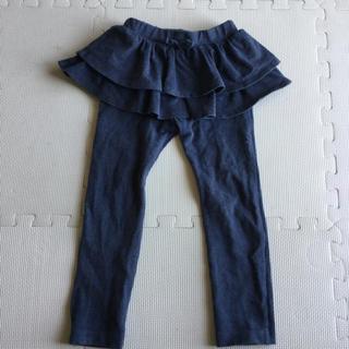 ユニクロ(UNIQLO)のスカート付き 長ズボン 100cm(パンツ/スパッツ)