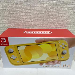 ニンテンドースイッチ(Nintendo Switch)のNintendo Switch Lite スイッチ ライト 本体 イエロー(携帯用ゲーム機本体)