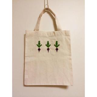 ムジルシリョウヒン(MUJI (無印良品))の手刺繍トート(エコバッグ)