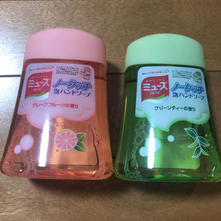 アースセイヤク(アース製薬)のミューズノータッチ泡ハンドソープ 詰め替え 2個(ボディソープ/石鹸)