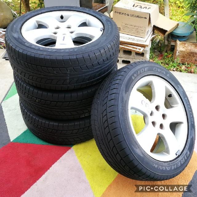 AUDI(アウディ)のアウディ A3純正16インチホイールとタイヤ付き 4本セット 6.5J +42  自動車/バイクの自動車(タイヤ・ホイールセット)の商品写真