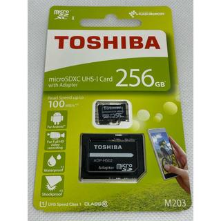 東芝 - micro SDXCカード 256GB 東芝 TOSHIBA SDアダプター付
