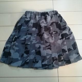 コムサイズム(COMME CA ISM)の迷彩プリーツスカート(スカート)