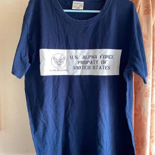 アルファインダストリーズ(ALPHA INDUSTRIES)のALPHAアルファTシャツ(Tシャツ/カットソー(半袖/袖なし))