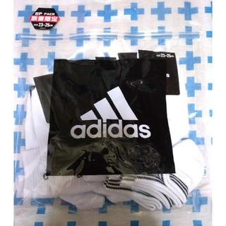 アディダス(adidas)のadidas 白ソックス 6枚セット(ソックス)