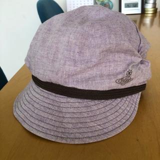 ヴィヴィアンウエストウッド(Vivienne Westwood)のヴィヴィアン 帽子 キャスケット(S〜M)(キャスケット)