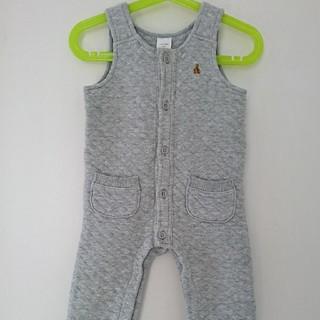 ベビーギャップ(babyGAP)のbaby GAP 80㎝ オーバーオール ズボン 男女兼用 赤ちゃん ロンパース(ロンパース)