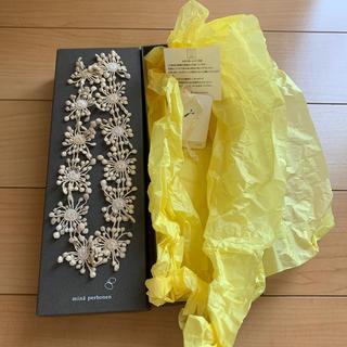 ミナペルホネン(mina perhonen)のミナペルホネン ガーランド garland  ネックレス(ネックレス)