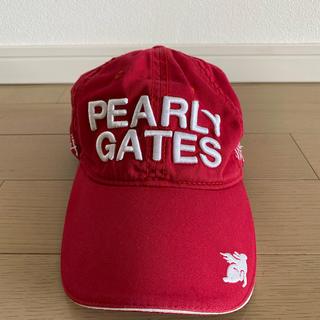 パーリーゲイツ(PEARLY GATES)のPEARLYGATESパリーゲイツ キャップレディース(キャップ)