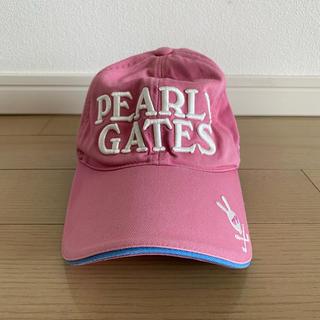 パーリーゲイツ(PEARLY GATES)のPEARLYGATES パリーゲイツキャップ レディース(キャップ)