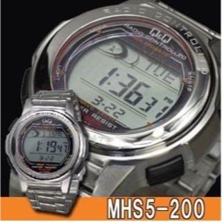 CITIZEN - シチズン 電波ソーラー腕時計 メンズ MHS5-200