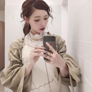 トーガ(TOGA)の【kishidamiki】shirring sleeve(その他)