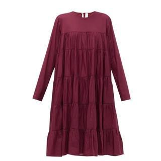 新品 merlette マーレットティアードドレス ESSAOUIRA(ひざ丈ワンピース)