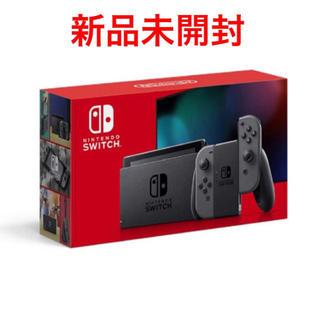 ニンテンドースイッチ(Nintendo Switch)の新品 未開封 Nintendo Switch 本体 新モデル グレー(家庭用ゲーム機本体)