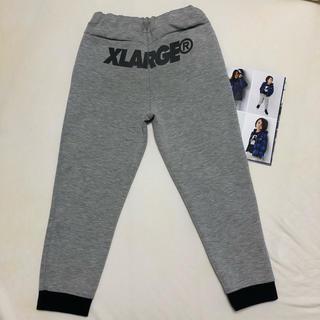 エクストララージ(XLARGE)の【xlarge kids】テックフリースパンツ 120(パンツ/スパッツ)