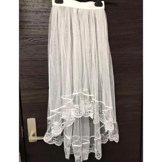 スピンズ(SPINNS)の♡SPINNS/チュールスカート♡(ロングスカート)