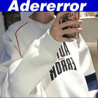 ボウダンショウネンダン(防弾少年団(BTS))のADERERROR アーダーエラー Form logo スウェット(スウェット)