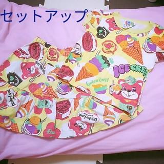 ラブレボリューション(LOVE REVOLUTION)のラブレボ♡90♡セットアップ(Tシャツ/カットソー)