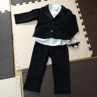 ベルメゾン(ベルメゾン)のyuu様専用90㎝フォーマルスーツセット(ドレス/フォーマル)