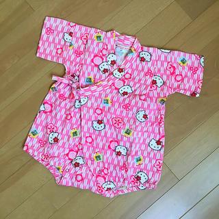 サンリオ(サンリオ)のハローキティ ベビー 甚平 ロンパース 浴衣(甚平/浴衣)